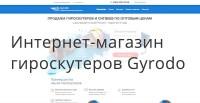 Интернет-магазин гироскутеров Gyrodo - Яндекс Директ и Google Реклама