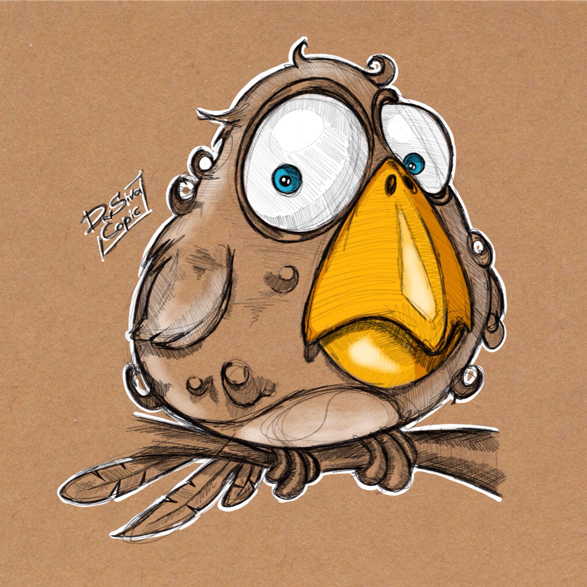 Персонаж, птиц...А!