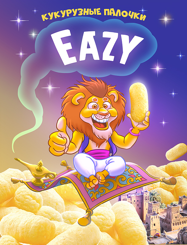 Кукурузные палочки Eazy