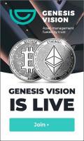 Анимированный баннер GENESIS VISION