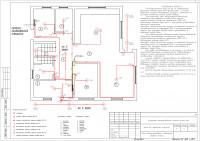 Внутреннее электроснабжение деревянного каркасного дома