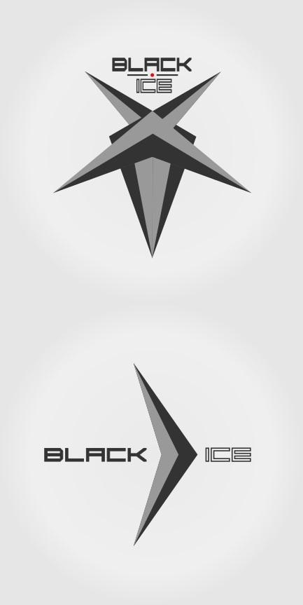 """Логотип + Фирменный стиль для компании """"BLACK ICE"""" фото f_77856df327027958.jpg"""