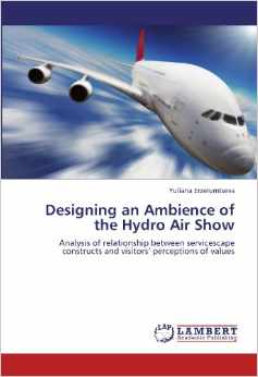 Дипломная работа Designing an Ambience of the Hydro Air Show