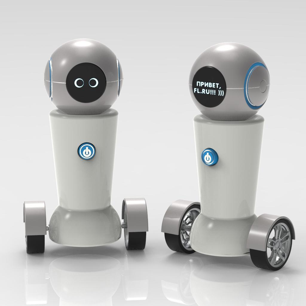 Конкурс на разработку дизайна детского домашнего робота. фото f_0195a7c2800c455b.jpg
