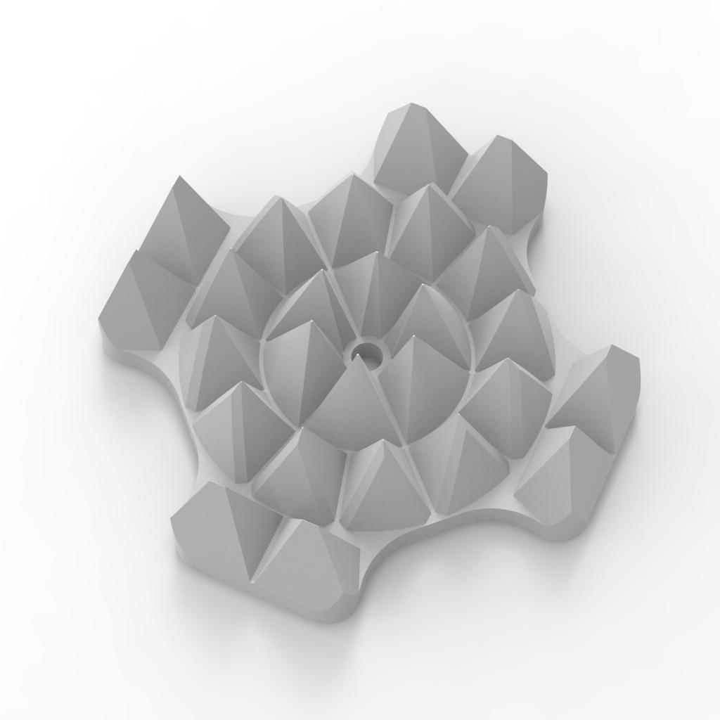 Сделать 3D модель массажного элемента формат STP/UG фото f_3935d29a725403d7.jpg