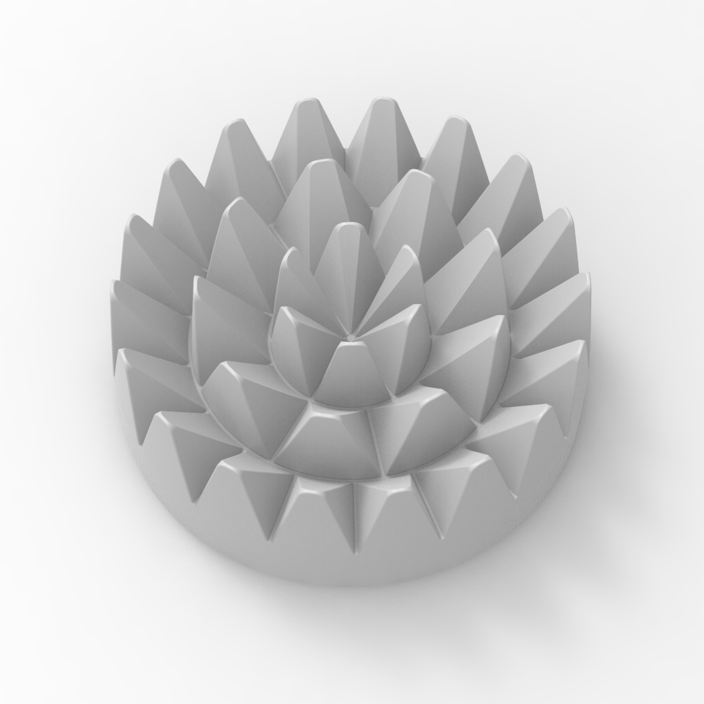 Сделать 3D модель массажного элемента формат STP/UG фото f_6685d2833244d84d.jpg