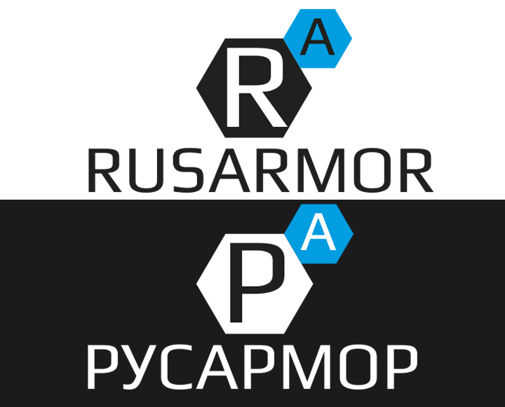 Разработка логотипа технологического стартапа РУСАРМОР фото f_2055a0a25c934df7.jpg