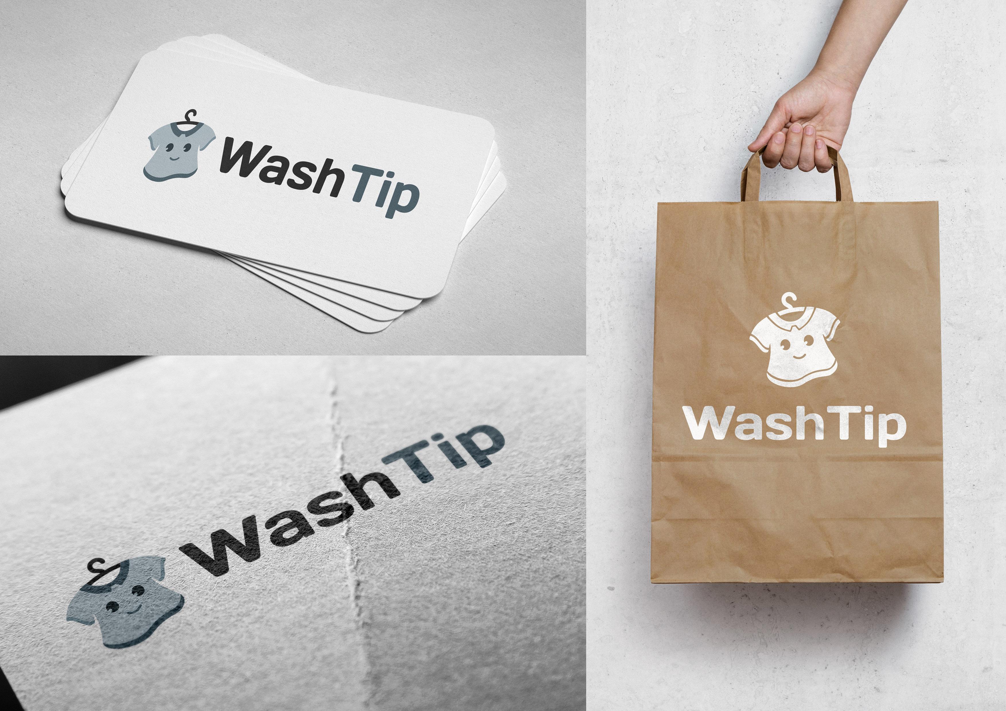 Разработка логотипа для онлайн-сервиса химчистки фото f_1145c055a7357c6c.jpg