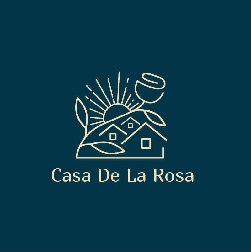 Логотип + Фирменный знак для элитного поселка Casa De La Rosa фото f_4085cd31610d9ef4.jpg