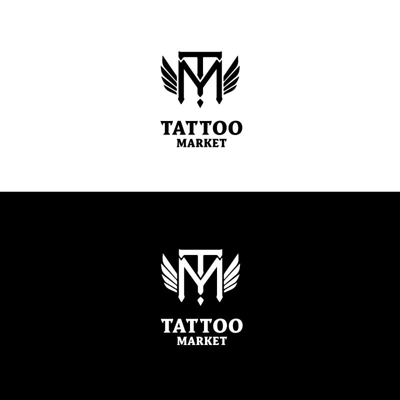 Редизайн логотипа магазина тату оборудования TattooMarket.ru фото f_5445c3bc6394fd01.jpg