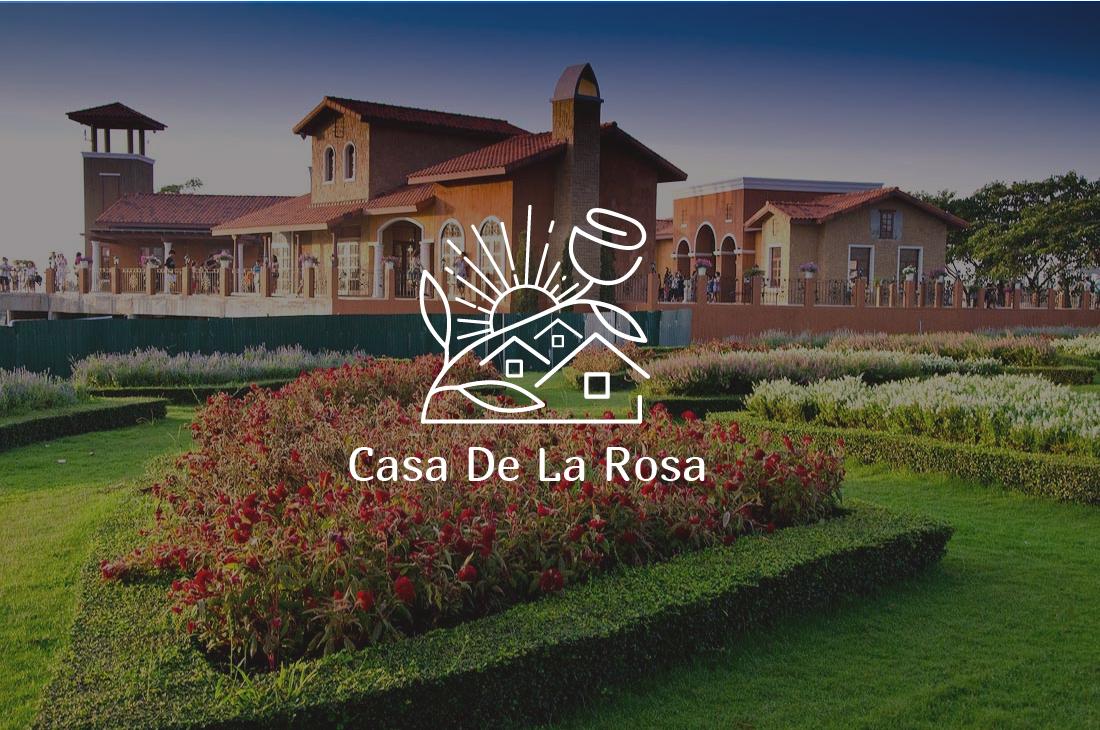 Логотип + Фирменный знак для элитного поселка Casa De La Rosa фото f_6755cd3152fd47d0.jpg