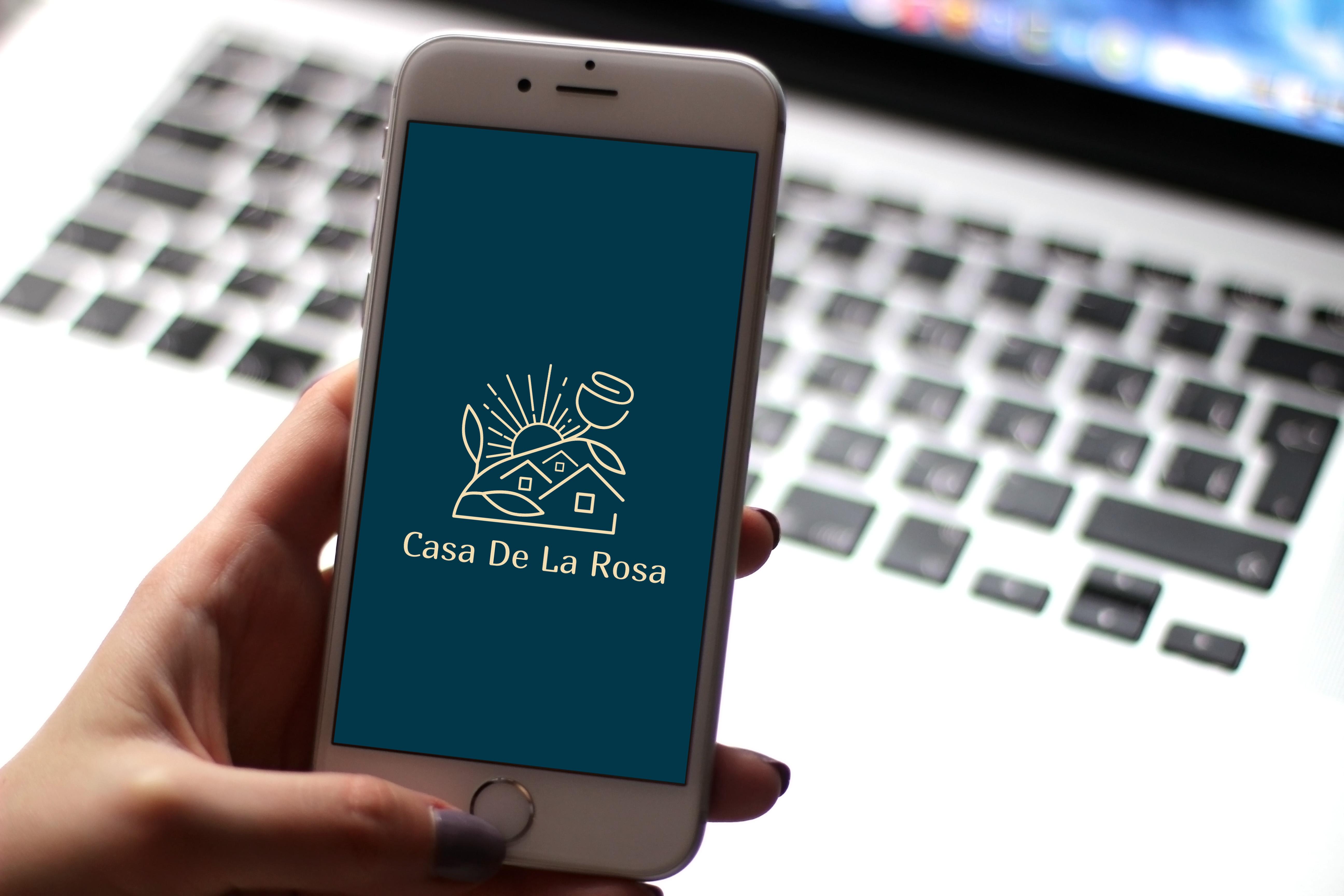 Логотип + Фирменный знак для элитного поселка Casa De La Rosa фото f_8015cd30d8cae27b.jpg