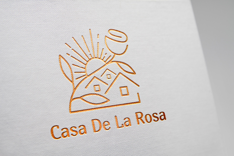 Логотип + Фирменный знак для элитного поселка Casa De La Rosa фото f_8935cd30dc956859.jpg