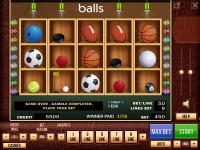 """Интерфейс и иконки """"balls"""""""