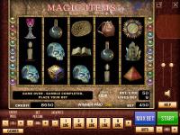 "Интерфейс и иконки ""Magic items"""