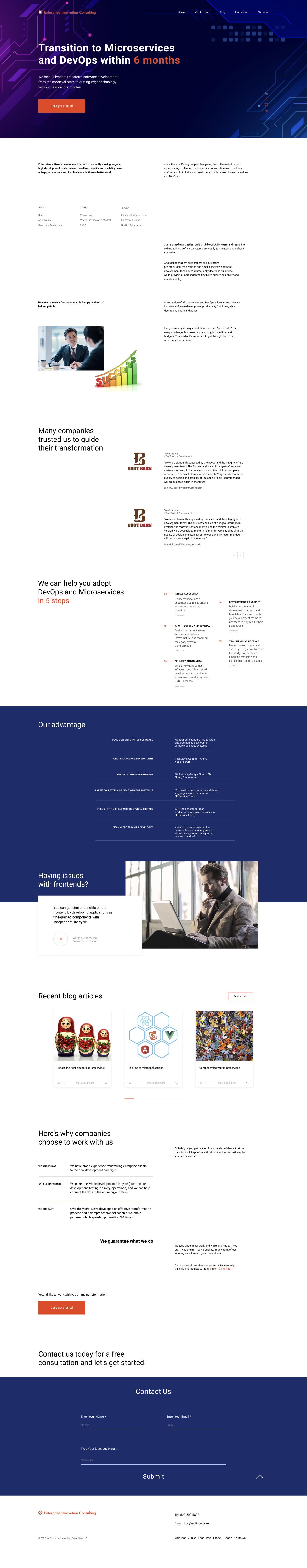 Дизайн сайта для консалтинговой компании в сфере ИТ. фото f_0005ec98167daef1.jpg