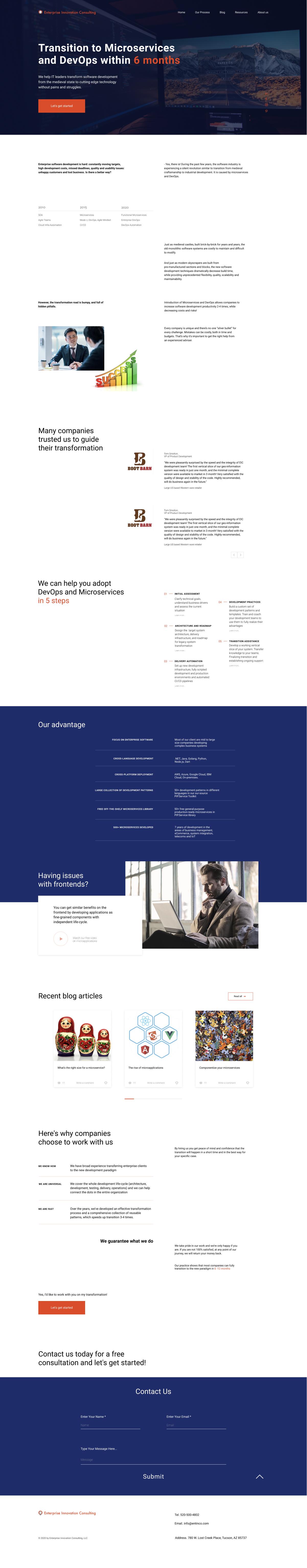 Дизайн сайта для консалтинговой компании в сфере ИТ. фото f_0585ec979b21d6aa.jpg