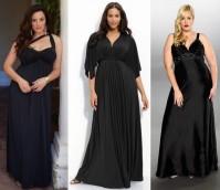 Лендинг - вечерние платья  для полных женщин