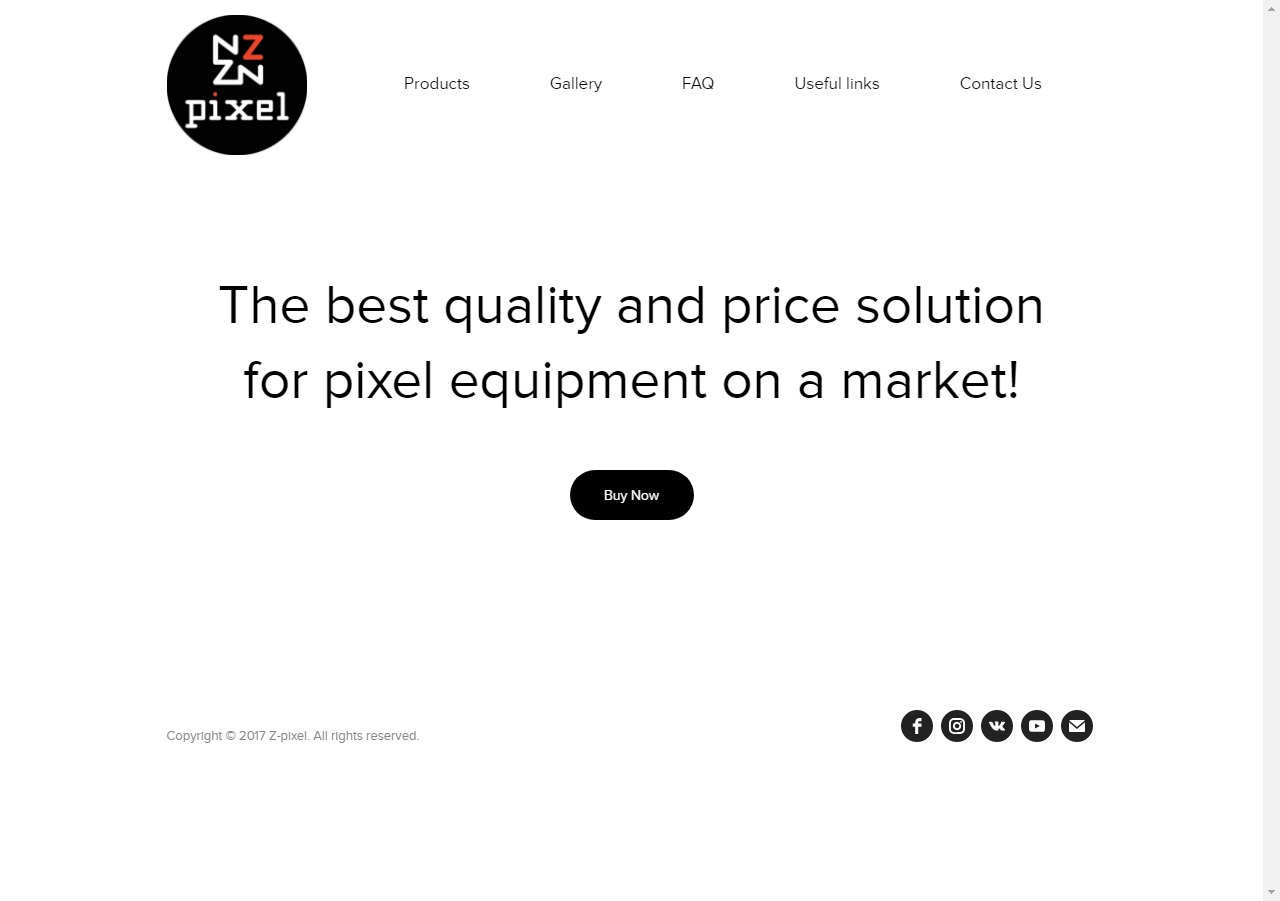 """Интернет-магазин светодиодного оборудования """"Z-pixel"""" (Украина)"""
