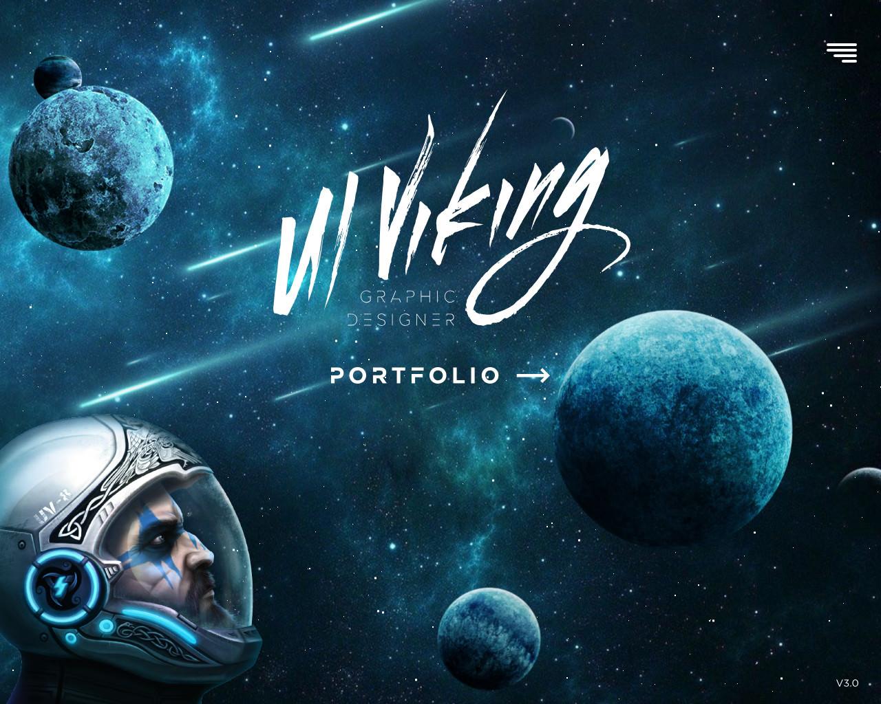 """Портфолио веб-дизайнера """"UIviking"""" (Германия)"""