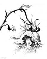 """иллюстрация к сборнику стихов Ирины Крыловой """"Кокон"""""""