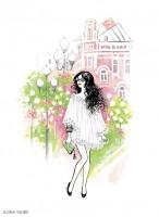 Fashion иллюстрация для обложки блокнота 6