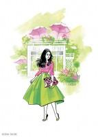Fashion иллюстрация для обложки блокнота 3