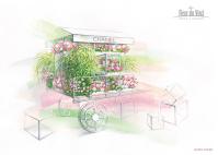 Проект весеннего оформления бутика