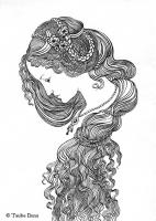 "Иллюстрация к стихотворению ""Примавера"""