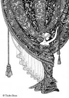 "Иллюстрация к стихотворению ""Штора"""