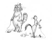 Жили-были Кот и Кошка. 2