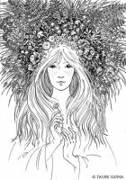 "Иллюстрация к стихотворению ""Грёза лета"""