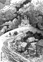Иллюстрация к стихотворению А. Соловьёва