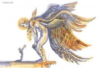 Иллюстрация к стихотворению А.С. Пушкина «Пророк».