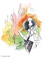 Иллюстрация для журнала MINI