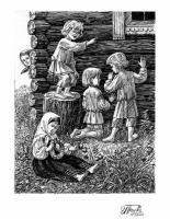 «Крестьянские дети». Н.А. Некрасов.
