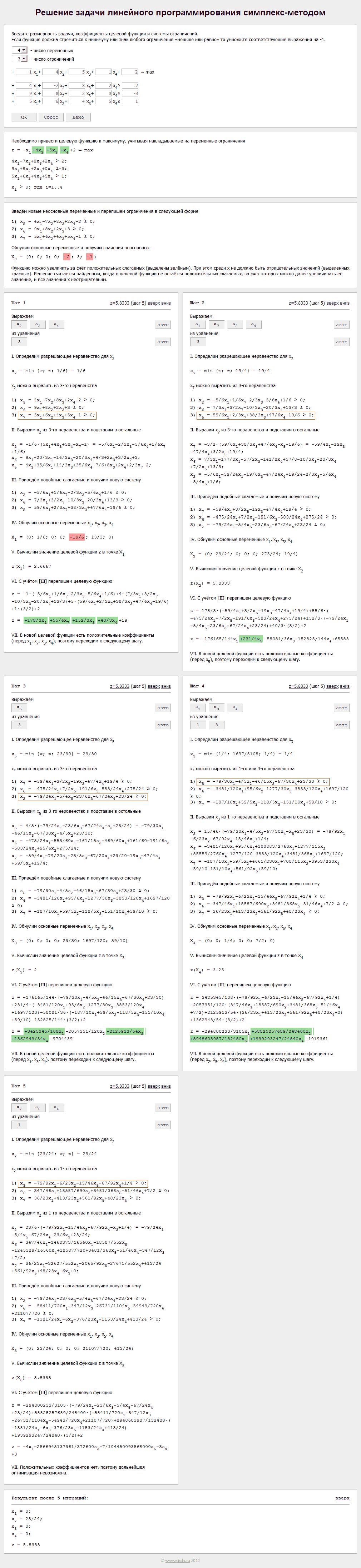 Симплекс-метод