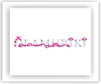 Логотип на конкурс Glamuriki 2