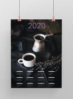 calendar coffee