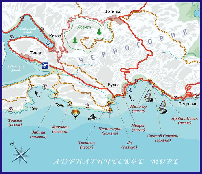 Туристская карта-схема #2