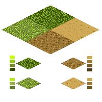 Текстуры для игровой карты