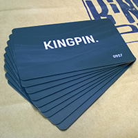 Дисконтная карта магазина Kingpin
