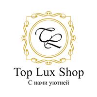 Логотип магазина посуды Top Lux Shop