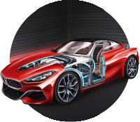 Автомобиль для демонстрации шумоизоляции Dream Car Technology