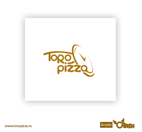 Разработка логотипа пиццерии «ToroPizza»
