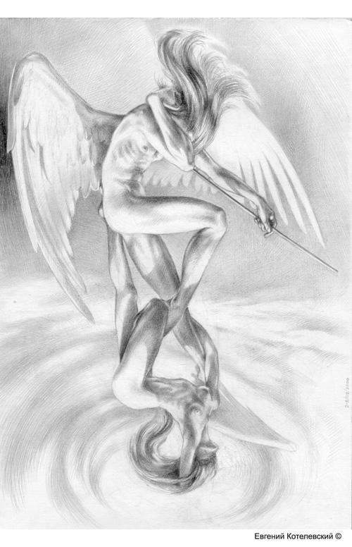 IX. Карандашный рисунок.