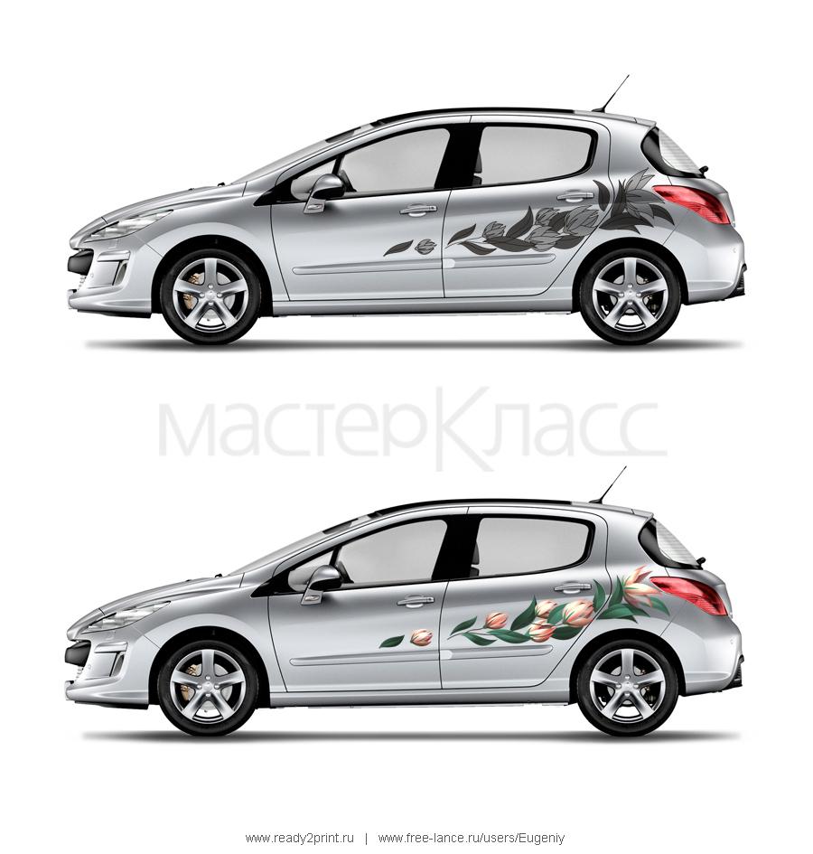 Оформление автомобиля Peugeot 308