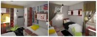Подростковая комната для девочек