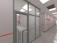 Офис IT-компании. Эскизный проект