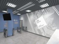 Вестибюль офиса IT-компании